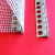 Aluminum Consol Drip Profile With Fiberglass Mesh