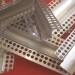 Aluminium Fuga Profile or with Fiberglass Mesh