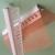 PVC Consol Drip Profile With Fiberglass Mesh